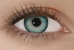 färgade linser aqua